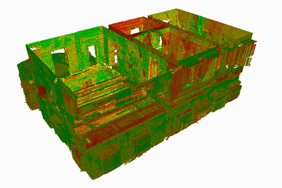 ReCap, режим желто-красно-зеленых цветов (снимок экрана)